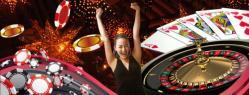 femme jetons roulette cartes casino